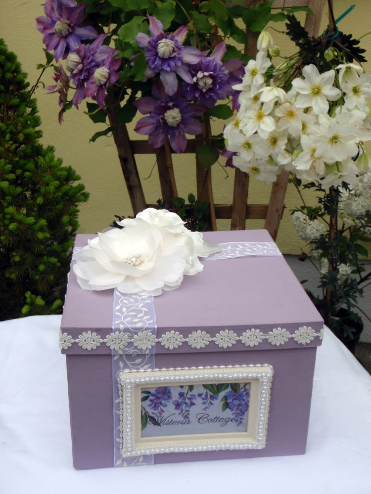 Wisteria Keepsake Box (Lid - needs something more)