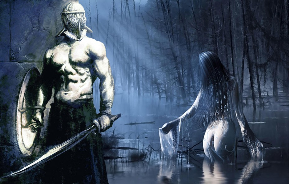 A warrior's quest to possess and win the heart of the daughter of the lake.