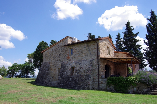 Another side view of the Villa in Impruneta, Florence - June 2014