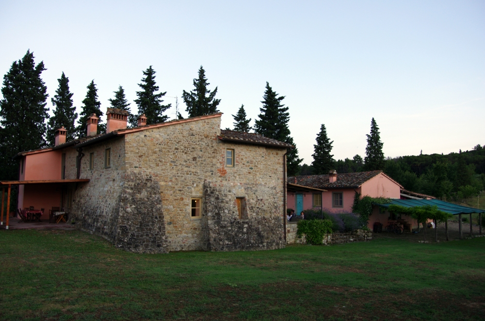 Side view of our Villa in Impruneta, Florence - June 2014
