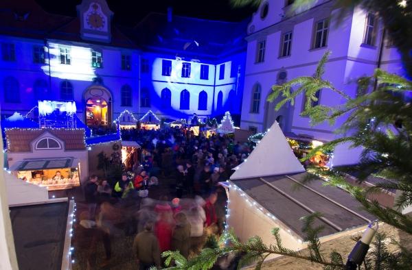 Füssen, Germany – Christmas 2016. Christmas Market.