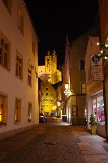 Füssen, Germany - Christmas 2016.
