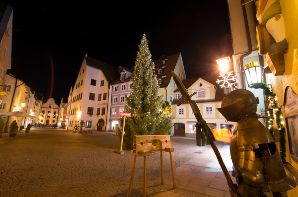 Füssen, Germany – Christmas 2016.