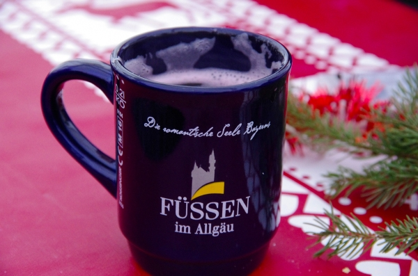 Füssen, Germany - Christmas 2016. We always had time for mulled wine.