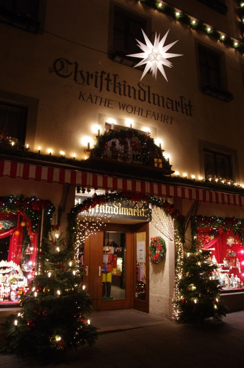 Rothenburg ob der Tauber, Germany - Christmas 2016.