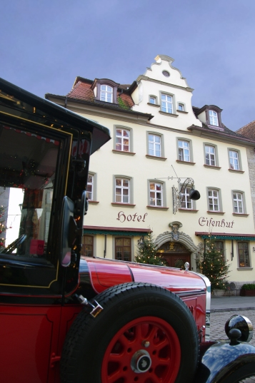 Rothenburg ob der Tauber, Germany - Christmas 2016 This was our hotel for 2 nights, Hotel Eisenhut.