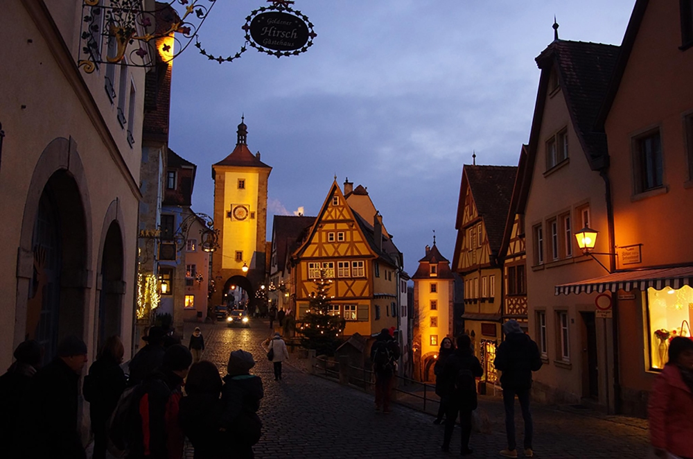 Rothenburg ob der Tauber, Germany - Christmas 2016